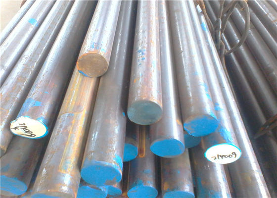 China Engineering Structural Solid Steel Bar , Round Shaped Solid Metal Rod distributor
