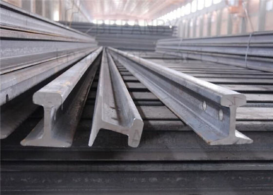 China Material 55Q / Q235B Light Steel Rail Strong Hardness For Railway Rail distributor
