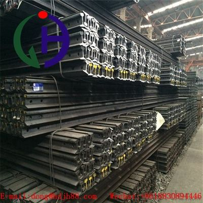 China Light Weight Q235 Grade Train Track Material , Length 6 to 12 m distributor