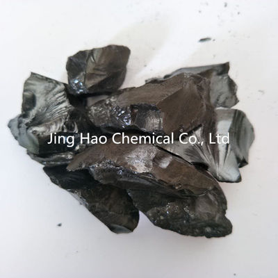 China Black Solid Coal Tar Hard Pitch For Cold Ramming Paste High Performance distributor
