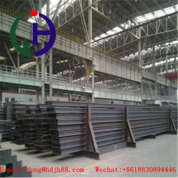 Light Weight Q235 Grade Train Track Material , Length 6 to 12 m